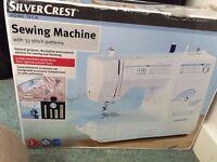 Silver Crest Sewing Machine with 33 stitch patterns £45