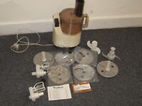 Moulinex MultiChef 588 Food Processor With Loads Off Accessories