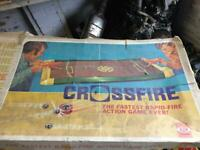 Old cross fire game with box