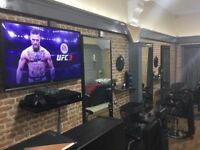 FULLY FURNISHED / FITTED BARBERSHOP/SALON FOR SALE (LISBURN ROAD)