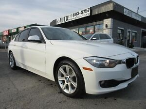 2012 BMW 3 Series 320i Sunroof White on Black