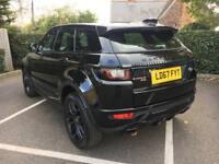 Land Rover Range Rover Evoque TD4 HSE DYNAMIC (black) 2017-09-30