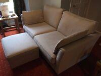 3 Seat Sofa plus Footstool