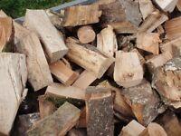 Firewood. Hardwood £85 per load and Softwood £70 per load