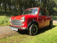 Classic Mini Flame Red - Black/Red 1989 - 998cc