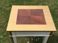 GOLD EDGED COFFEE TABLE