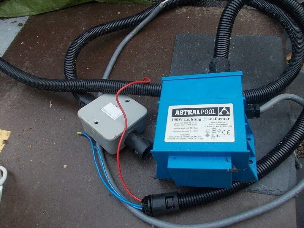 Astrapool 12v 100w Ip65 Swimming Pool Light Transformer