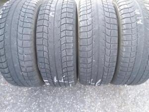 P205/55R16X4 MICHELIN X-ICE USED WINTER TIRES FOR SALE