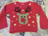 Christmas jumper size 2-3years