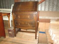 wooden cabinet, lovely example of a wooden bureau ....