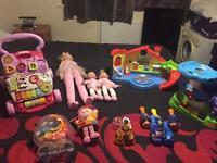 Kids toys cheap for quick sale baby walker ballerina dolly vtec me potato