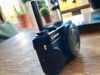 Canon G7x Mark II , 20.1 Megapixels. F1.8