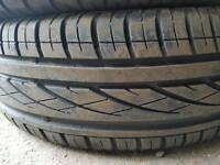 FREE FITTING CONTINENTAL 195 65 15 TYRE 7.5MM NEARLY NEW