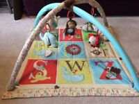 Skip Hop Alphabet Zoo Baby Activity Gym mat - great condition