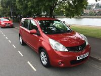 Nissan Note 1.5 dCi Acenta 5dr MPV - Very low mileage, serviced at Nissan garage!