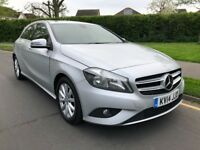 2014 Mercedes-Benz A Class 1.5 A180 CDI ECO SE 5dr - Silver - FMBSH - 1 Owner - Mint - £0 Road Tax