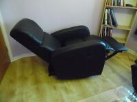two recliner armchairs