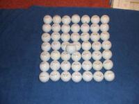 50 Topflite golf balls