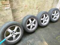 Honda accord wheels with tyres