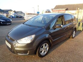 Ford S-Max 2.0 7 Seater Diesel Warranty Included