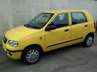 Suzuki alto, low miles, long mot