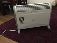 Electric heater Duronic - portable, lightweight, barely used