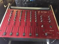 Formula Sound FSM 600 mixer with flight case