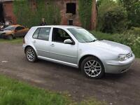 Volkswagen Golf Mk4 GtTdi 6 speed 150bhp ARL Oceanic Reflex silver LA7W Breaking for Spare parts .