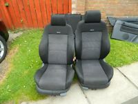 Golf GTi MK4 3 door Recaro interior. All seats and door cards