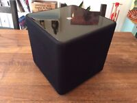 Kef Kube 1 subwoofer with 5 meter phono cable