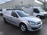 VAUXHALL ASTRA VAN 1.7 CDTI IN SILVER WITH VAUXHALL ALLOYS SMART LOOKING VAN SOLD WITH NEW MOT NOVAT