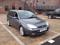Ford Focus ST170 Estate. 2003, 03 Plate. MOT January 2017. Great Condition. £495.