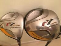 Taylor made R7 driver and 3 wood. Rt handed