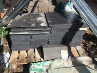 Fibre cement slates