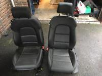 Audi S3 leather seats