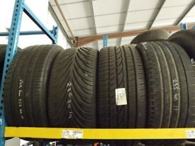 PART WORN CAR TYRES 35 40 45 50 55 60 65 70 75 15 16 17 18 19 20 175 185 195 205 215 225 235 245 255