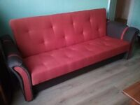 Clic Clac sofa bed/bed settee, brand new