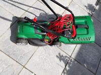 Qualcast 1200w Electric Rotary Lawnmower - well looked after and in good condition