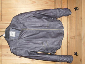 Girl's Next Faux Leather Jacket age 11-12