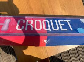 Croquet set - brand new and never used