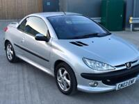 Peugeot 206cc convertible 03 plate mot July 2018 roof not working not sure why