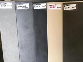 Concept BLACK porcelain wall and floor tiles £10.99 per sqm!!!