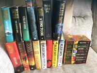 A selection of Wilbur Smith books