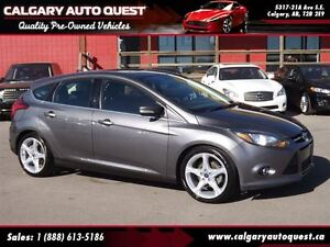 2012 Ford Focus Titanium NAVIGATION/LEATHER/SUNROOF
