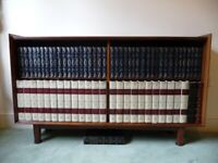 Encyclopedia Britannica and Classic Books including the Bookcase