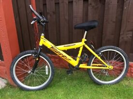 """Boys 20"""" bike yellow can deliver for a small charge"""