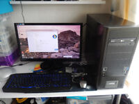 Cheap Fast Gaming PC. Complete High Quality System