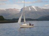 Westerly Nimrod, 18ft Trailer - Sailer.