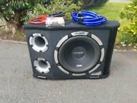 Vibe 1200 watts slick bass box