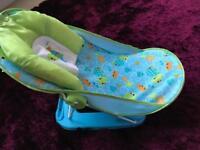 Babies r us Bath seat in blue